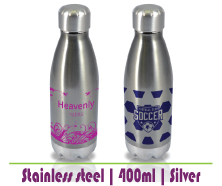 Silver Steel Bottle